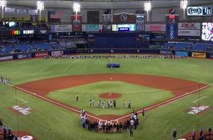 rays hold moment of silence on pride night