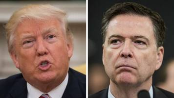 trump slams liar, leaker comey, claims total and complete vindication