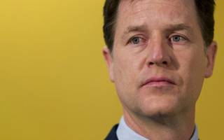 former deputy prime minister nick clegg has just lost his seat