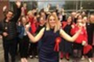 video: mum laura smith, 32, swaps teaching for politics after...