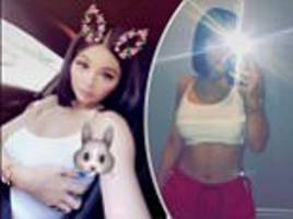 kylie jenner shows off bob haircut and taut tummy
