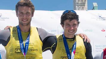 peters and sterritt win 49er gold at world cup series final