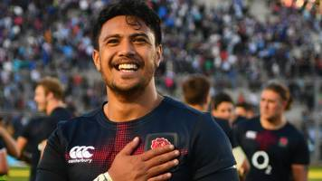 exeter trio make england debuts in win