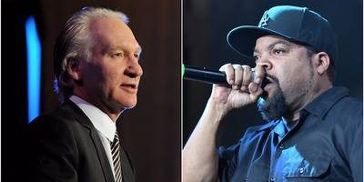 "watch ice cube question bill maher about controversial remarks on ""real time"""