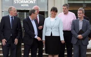 meet the kingmakers: the top dup figures propping up theresa may