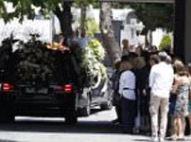 funeral is held for spanish banker killed in london attack