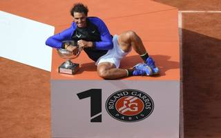 nadal completes la decima with 10th french open title
