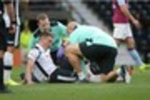 derby county recap: gary rowett on injured players; chris martin...