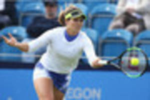 laura robson set for centre court battle with julia boserup in...