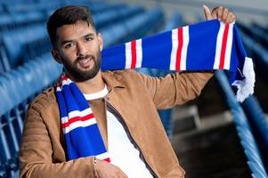 rangers new boy daniel candeias unfazed by pressures of playing for ibrox club