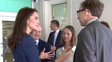 duchess of cambridge visits london attack victims