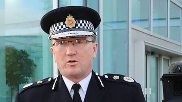 greater manchester police under real strain, says chief constable