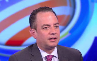 the media has 'fired' reince priebus at least 14 times since election day