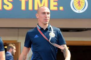 scott brown gives rangers fan the 'broony' stare after being duped into selfie video