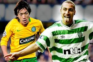 the best five celtic players since henrik larsson ranked