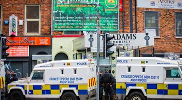police raid new dissident republican group's offices in belfast