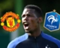 the paul pogba problem: man utd and france's battle with tactical inflexibility