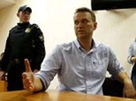 Putin critic hit with 30-day jail sentence after protests