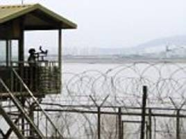 north korean soldier defects after crossing the border