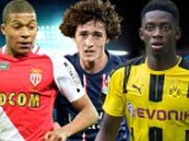 kylian mbappe leads new breed of france talent
