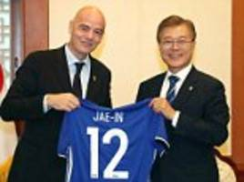 South Korea offers to host World Cup with North Korea