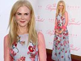 nicole kidman dazzles at premiere of the beguiled in la