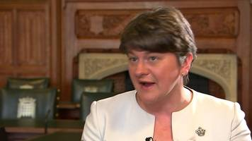 DUP leader Arlene Foster: 'Very good discussions'