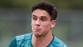 ankle injury rules joey carbery out of ireland's games in japan
