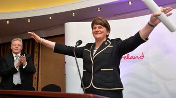 Arlene Foster: Profile of the Democratic Unionist Party leader