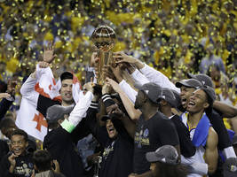 golden state warriors win nba championship; map of victory parade