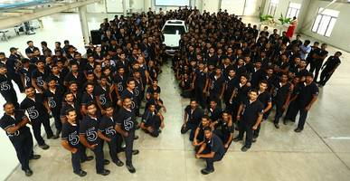 bmw plant chennai starts production of the all-new bmw 5 series