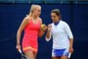 jocelyn rae says friendship with laura robson helped them to...