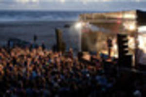Cornwall's Electric Beach Festival at Newquay forced off the...