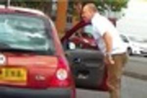 WATCH Shocking road rage attack in Leicestershire street caught...