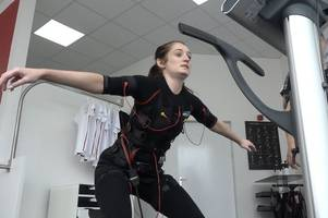 this gym puts you in an 'electric' outfit and claims to get you fit with just 20 minutes exercise a week