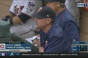 WATCH: Twins' No. 1 overall pick Royce Lewis calls into broadcast booth