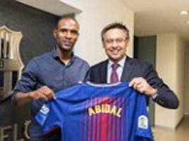 barcelona appoint ex-player eric abidal as club ambassador