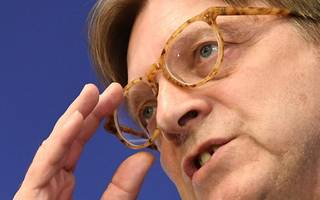 verhofstadt has five big questions ahead of next week's brexit talks