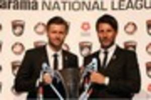 Vanarama award is for team and the players says Lincoln City boss...