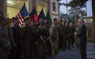 Trump Gives Defense Secretary Mattis Authority To Set Afghan Troop Levels