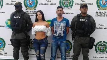 colombian model held for allegedly helping kidnappers