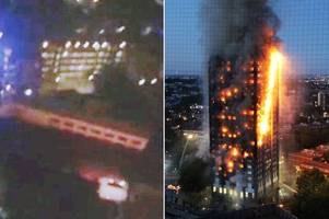 'there's too many people stuck upstairs': mum broadcasts facebook live from inside burning grenfell tower flat and prays for rescue