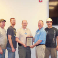 Liberty Mutual Insurance Recognizes Utility's Paragould, Arkansas Manufacturing Plant with Its Silver Safety Award