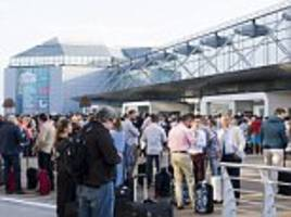 mass delays at brussels airport after power outage