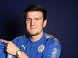 leicester sign centre back harry maguire for £17m
