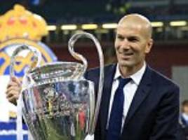 Real Madrid coach Zidane 'could be next France boss'