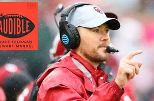 the audible podcast: oklahoma head coach lincoln riley on taking over for bob stoops & baker mayfield's punishment