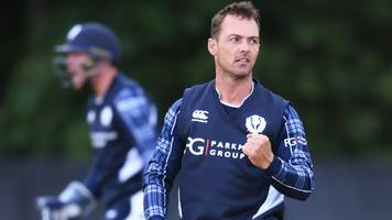 scotland beat zimbabwe to claim first odi win over a test nation
