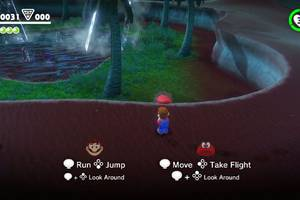Super Mario Odyssey has co-op, will let you play as Mario's hat
