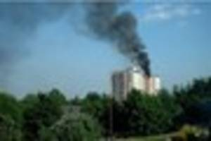 Rivermead House fire in 2005 saw mass evacuation of flats and...